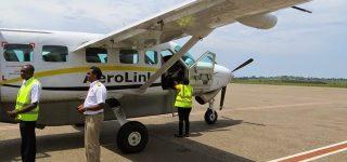 Flights to Kidepo